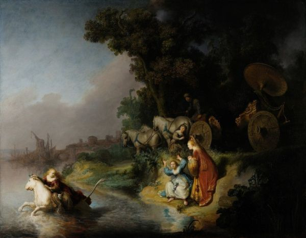 Rembrandt Harmensz. van Rijn - The Abduction of Europa