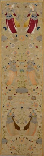 Unknown, Iran, 17th Century - Silk Velvet Textile